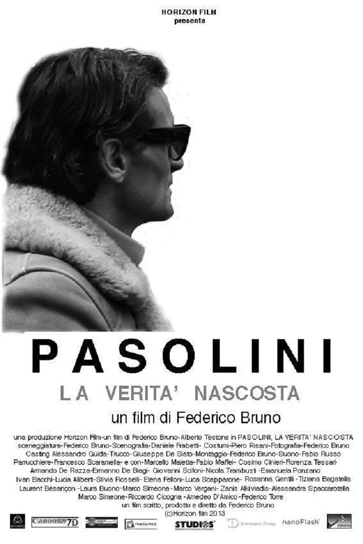 Cartel promocional del filme   'Pasolini, la verdad oculta': Turbio biopic sobre el pensador italiano