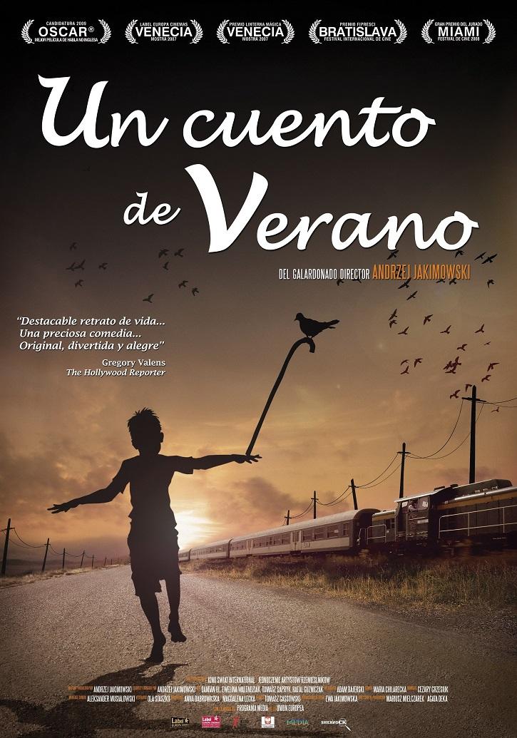 Cartel promocional del filme   'Un cuento de verano': Andrzej Jakimowski busca al padre ausente