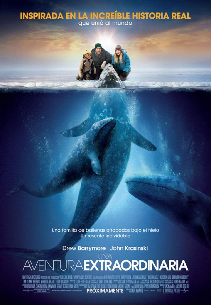 Cartel promocional del filme | Drew Barrymore lo da todo por amor en 'Una aventura extraordinaria'