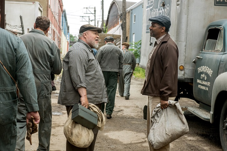 Fotograma del filme | 'Fences': Viola Davis logró el Oscar gracias a Denzel Washington