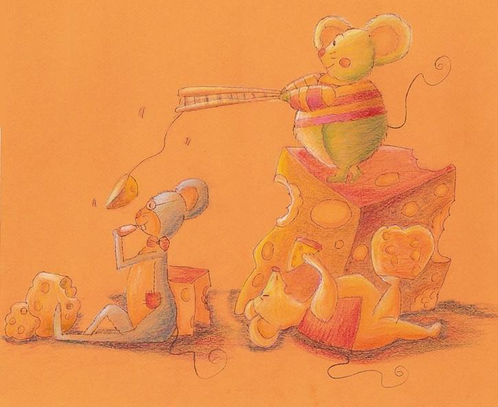 Ilustración del Atrapa a un ratón | Teresa Gómez Regidor publica 'Atrapa a un ratón' en la editorial libros.com