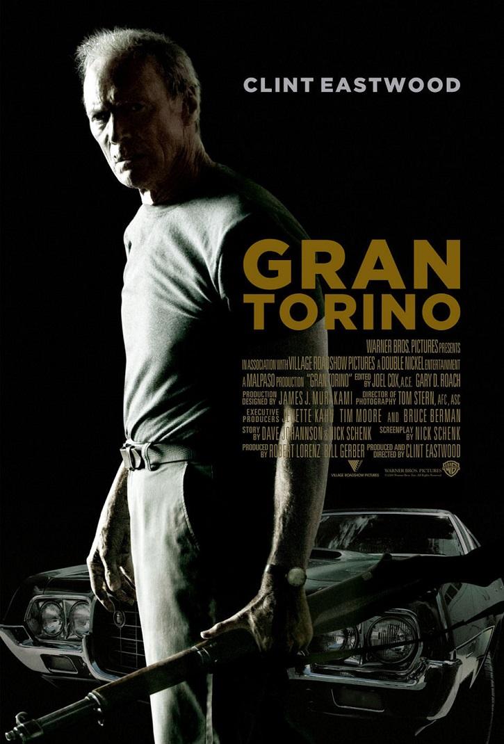 Cartel promocional del filme | 'Gran Torino': Para Clint Eastwood la familia y el amor son lo primero