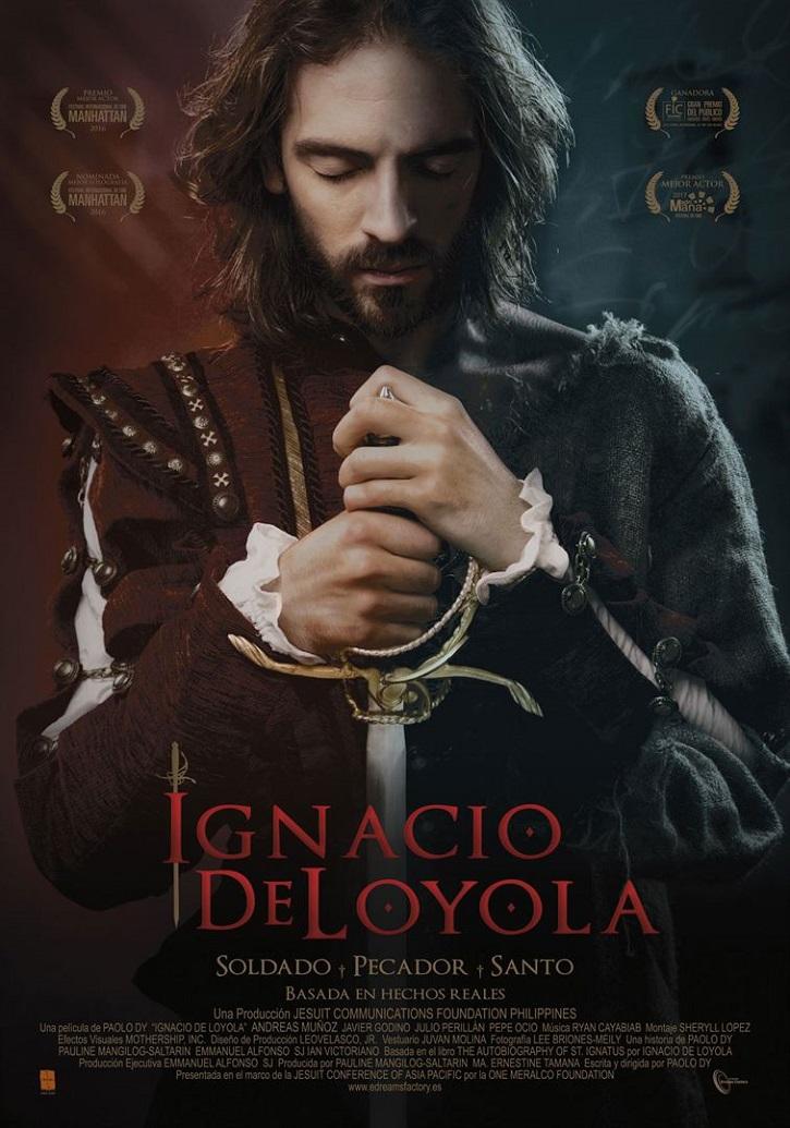 Cartel promocional del filme | 'Ignacio de Loyola': Intenso biopic del fundador de la Compañía de Jesús