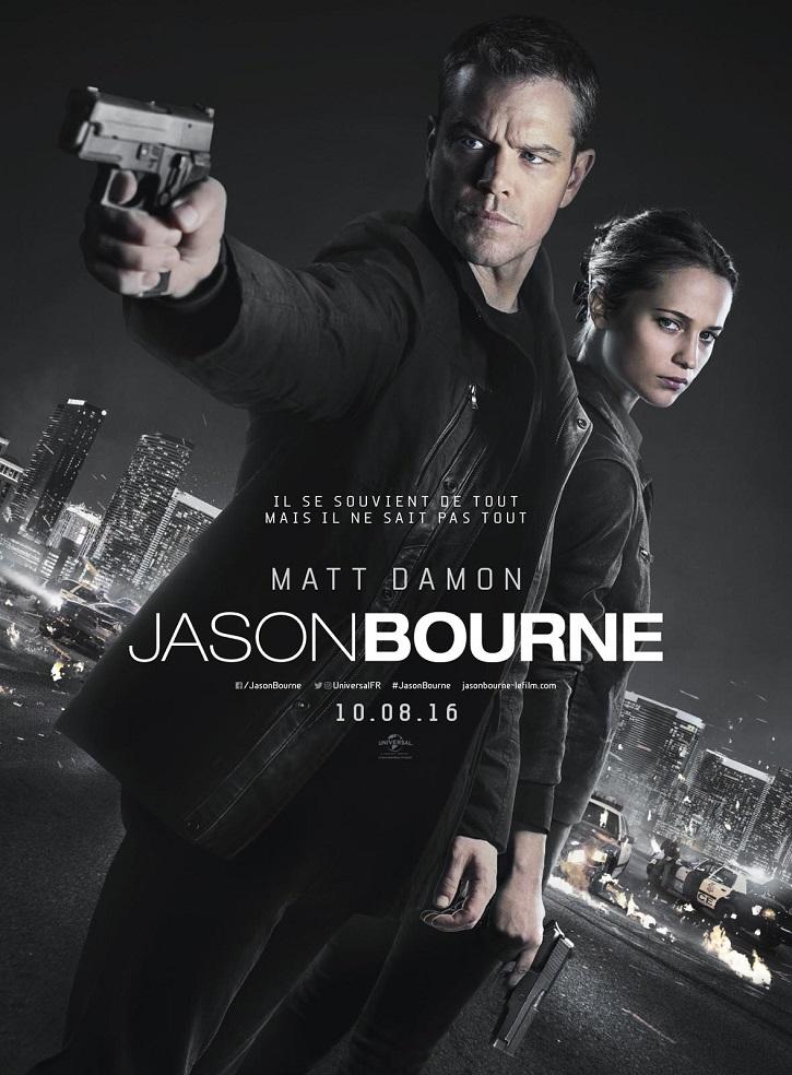 Cartel promocional del filme | 'Jason Bourne': ¿Soportaría el cine otra historia sobre el espía?