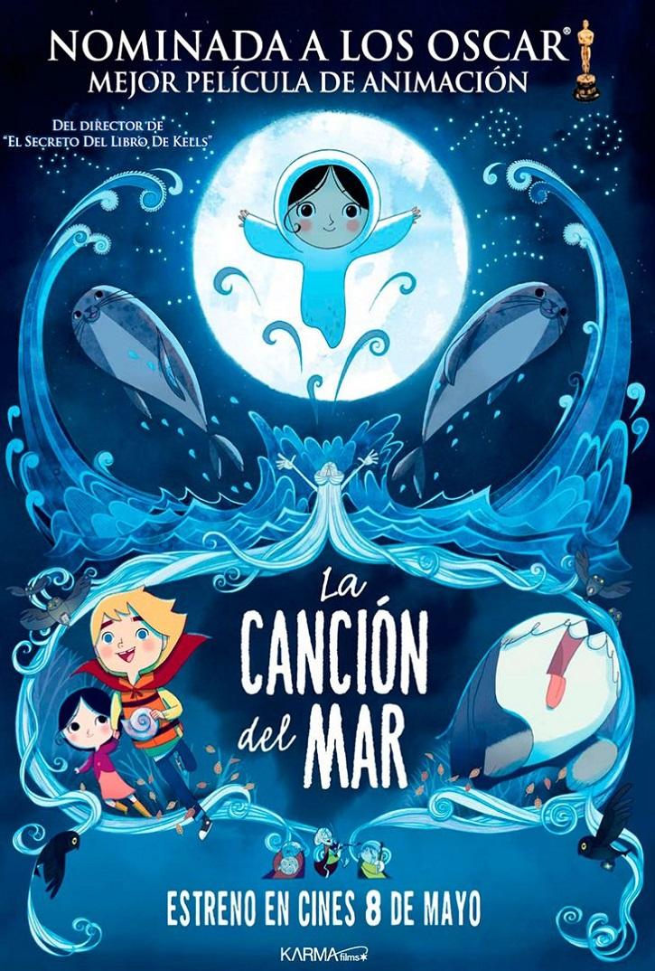 Cartel promocional del filme | 'La canción del mar': Premiada fantasía animada para toda la familia