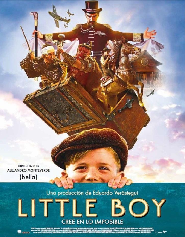 Cartel promocional del filme | Resuelve tus dudas de fe gracias a la emocionante 'Little Boy'