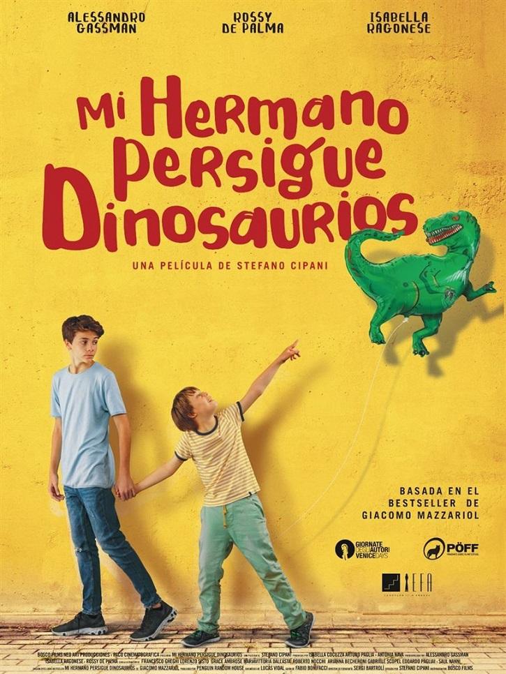 Cartel promocional del filme | 'Mi hermano persigue dinosaurios' conquista la taquilla española