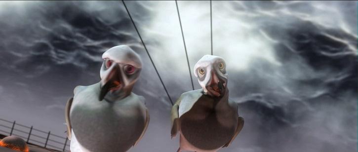 Fotograma del filme | 'Plumíferos, aventuras voladoras': Más que animación en 3D en Argentina