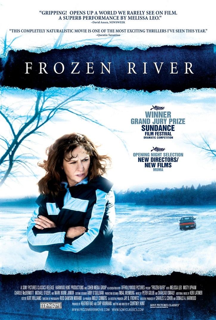 Cartel promocional del filme | 'Frozen river': Mujeres desesperadas en la frontera entre el bien y el mal