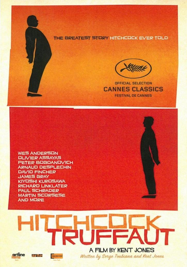 Cartel promocional del filme | Alfred Hitchcock cumple 121 años: ¿Conocéis el docu 'Hitchcock/Truffaut'?
