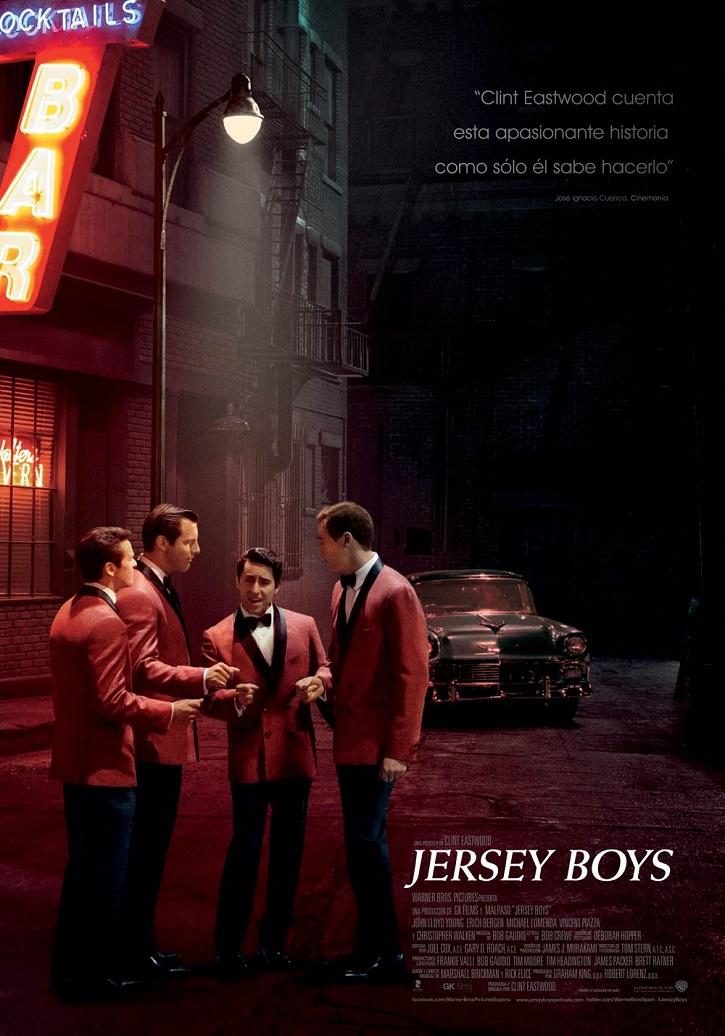 Cartel promocional del filme | 'Jersey Boys': Clint Eastwood triunfa con este biopic de tintes musicales
