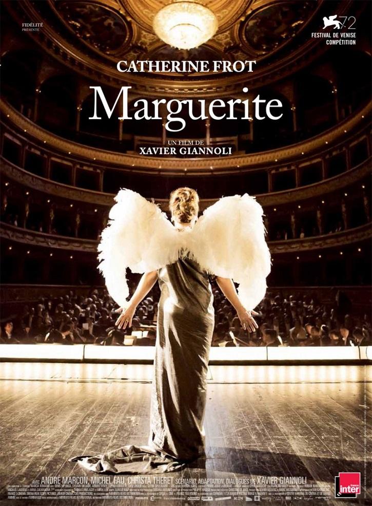 Cartel promocional del filme Marguerite