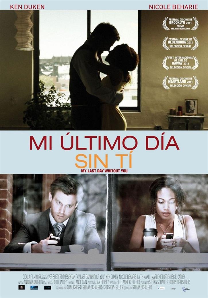 Cartel promocional del filme | 'Mi último día sin ti': 12 horas en Nueva York en busca de la felicidad
