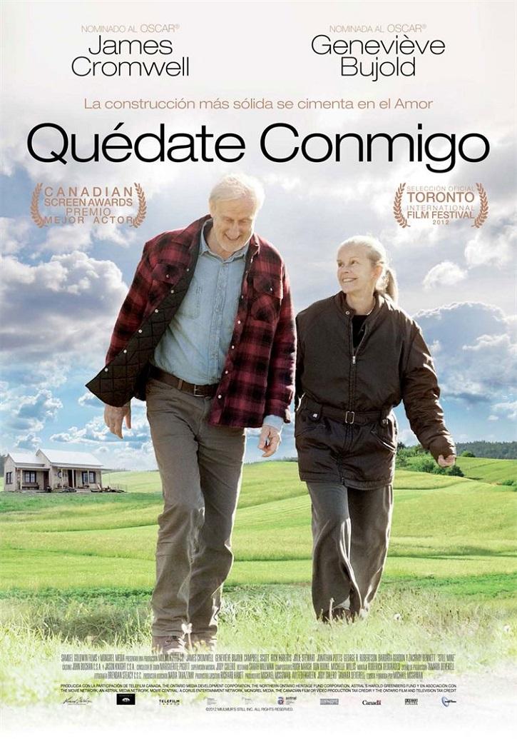 Cartel promocional del filme | 'Quédate conmigo' muy cerca y lo más lejos de este perverso alzheimer