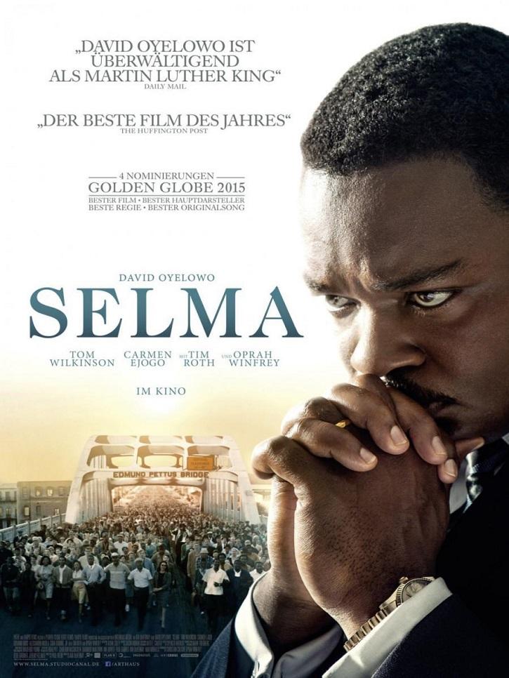 Uno de los carteles promocionales del filme | 'Selma': El primer biopic de Martin Luther King recibe un merecido Oscar