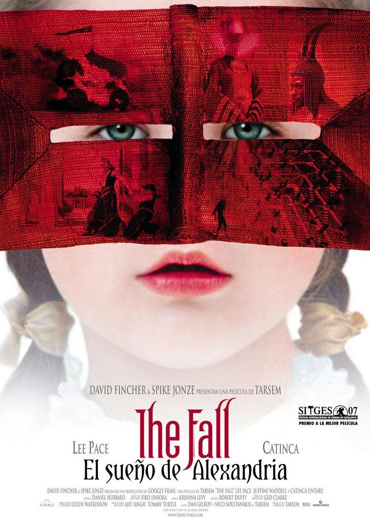 Cartel promocional del filme | 'The fall, el sueño de Alexandria': Asombroso derroche de belleza visual