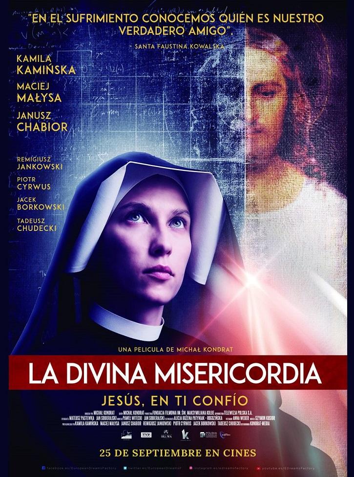 Cartel promocional del filme | Clip en exclusiva de 'La Divina Misericordia' (European Dreams Factory)
