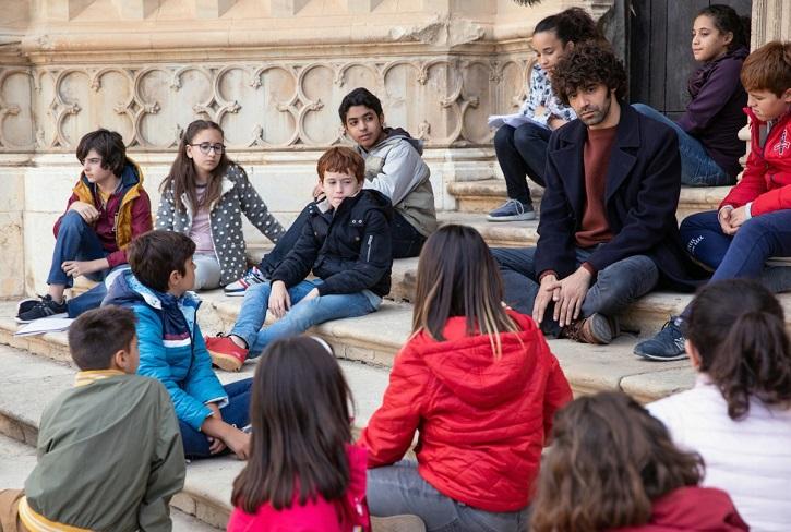 Fotograma del filme | Uno para todos: David Ilundain elogia al docente en este impecable drama