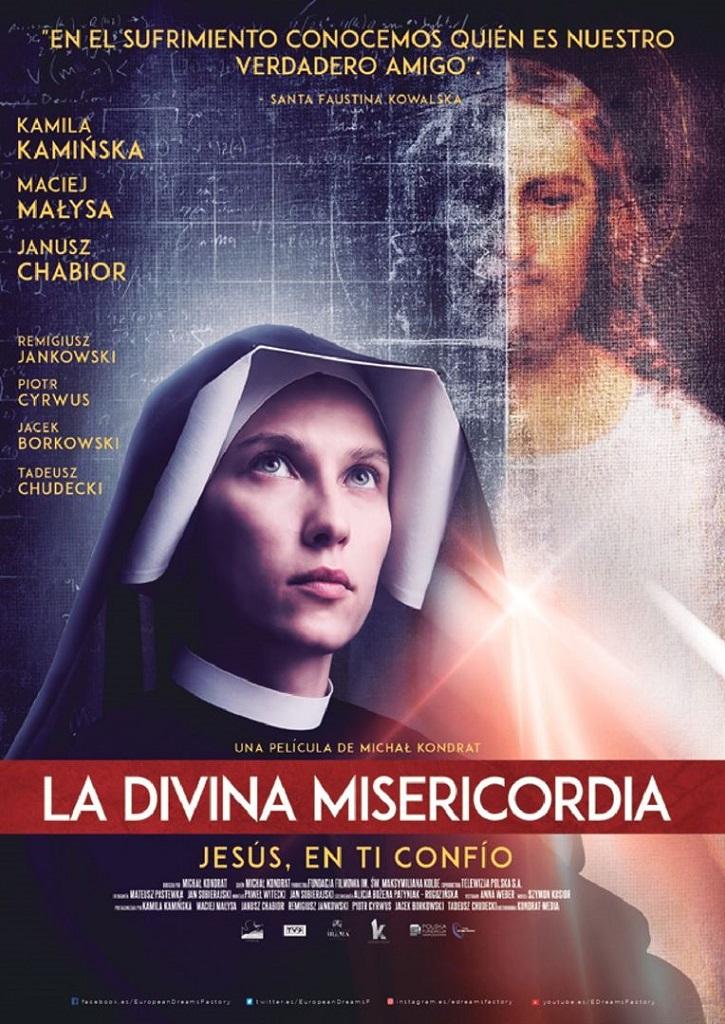 Cartel promocional del filme | 'La Divina Misericordia': Ejemplar hagiografía de Faustina Kowalska