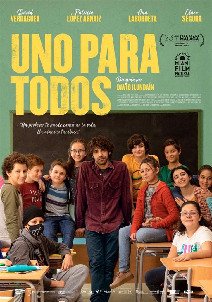 Cartel promocional | Uno para todos: David Ilundain elogia al docente en este impecable drama