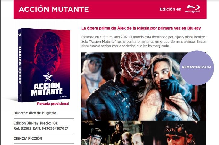 Acción Mutante | Cameo lanza hoy en BR las aclamadas 'Under the Skin' y 'Acción Mutante'