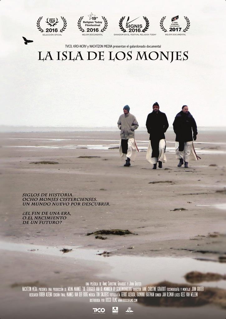 Cartel promocional del filme | 'La isla de los monjes': Razones para entender la vocacióncristiana