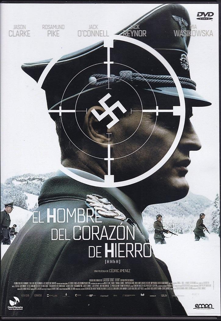 Cartel promocional del filme | 'El hombre del corazón de hierro': Atractivo biopic sobre Reinhard Heydrich