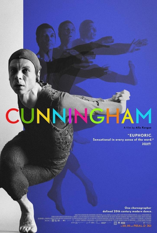 Uno de los carteles promocionales | 'Cunningham': Alla Kovgan homenajea al coreógrafo en gran documental