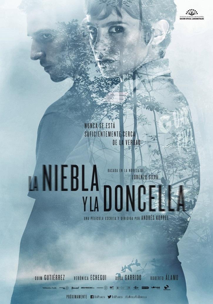 Uno de los carteles promocionales de La niebla y la doncella | 'La niebla y la doncella': La novela muy por encima del drama policiaco