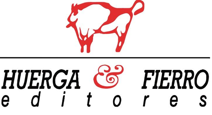 Logotipo de la editorial Huerga y Fierro | Leopoldo María Panero publica 'La mentira es una flor' en 'Huerga y Fierro'