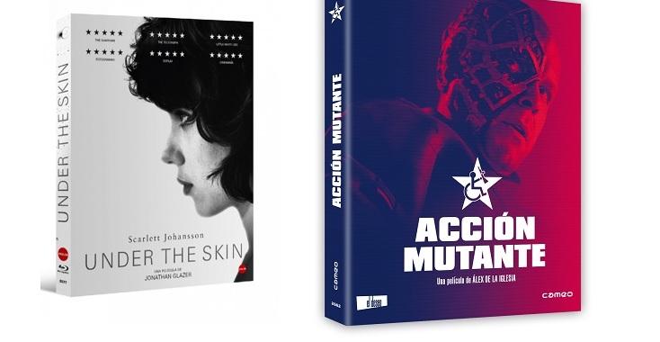 Lanzamientos de Cameo para el mes de octubre | Cameo lanza hoy en BR las aclamadas 'Under the Skin' y 'Acción Mutante'