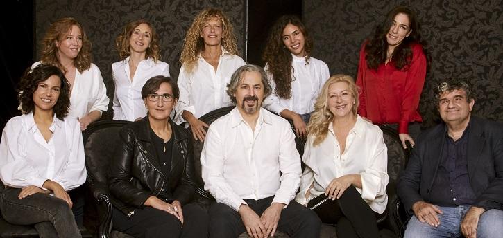 Actores, dramaturgos y directora. Imagen a cargo de Esmeralda Martín
