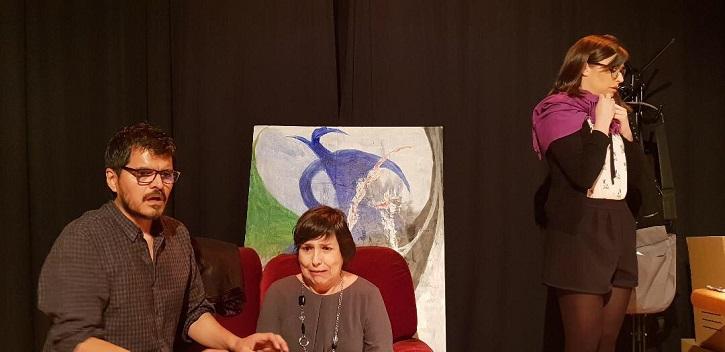 Los protagonistas del montaje   Tassili Teatro ('13 y martes') despliega su habitual talento en El Pardo