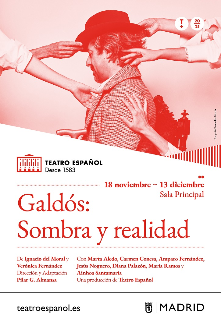 Cartel | 'Galdós: Sombra y Realidad': Impecable radiogafía del escritor canario