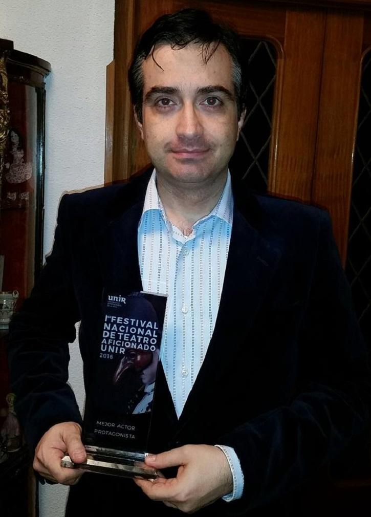 José Luis Panero, hace cuatro años