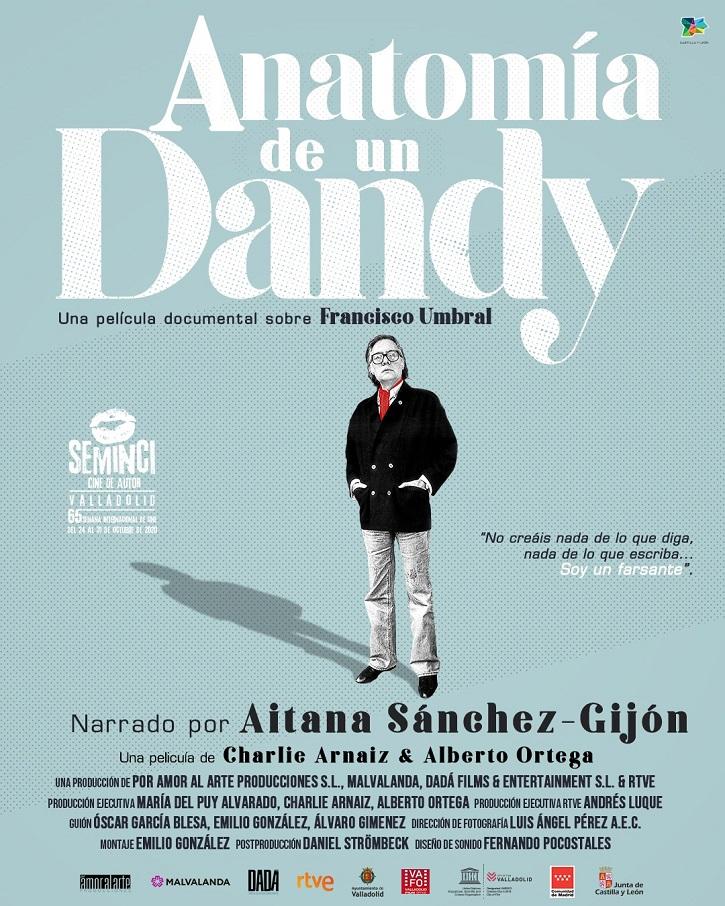 Cartel del documental | 'Anatomía de un Dandy': Umbral, el escritor que reinó