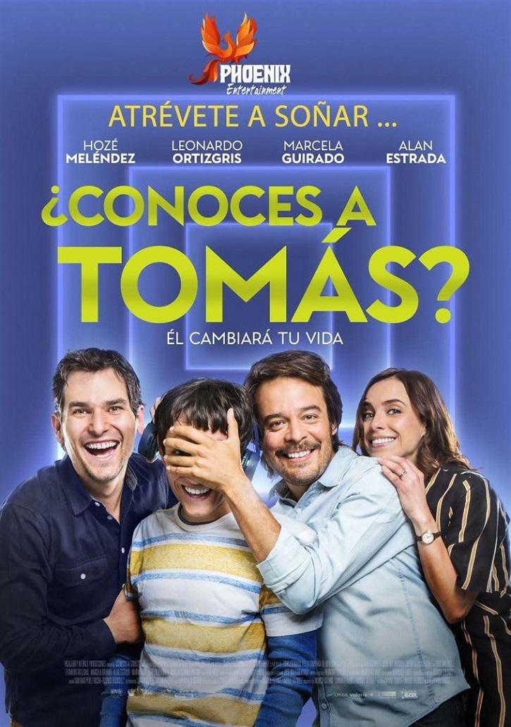Cartel promocional del filme | '¿Conoces a Tomás?': Audaz debut de María Torres sobre el autismo