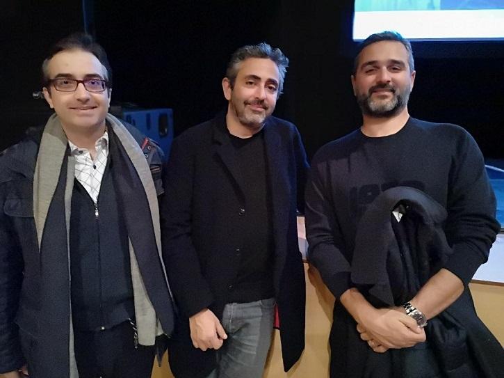 José Luis Panero, Eric Toledano y Olivier Nakache