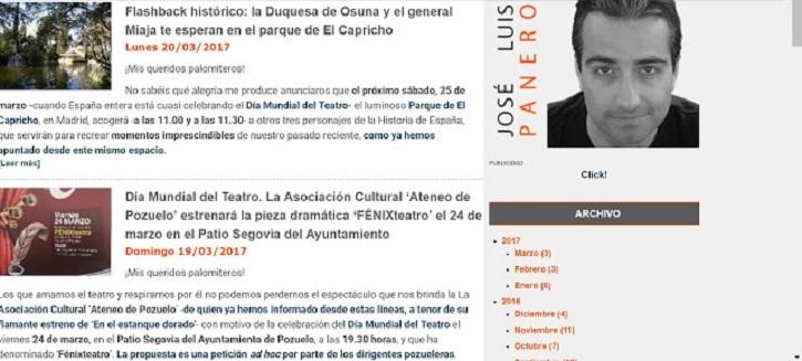 Apariencia del blog en 2012 | 'Palomitas de Maíz' cumple hoy 12 años: ¡Muchísimas felicidades!