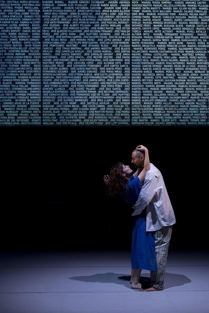 Imagen del montaje a cargo de Laura Ortega | 'J'attendrai': Impecable tratado sobre la memoria de Mauthausen