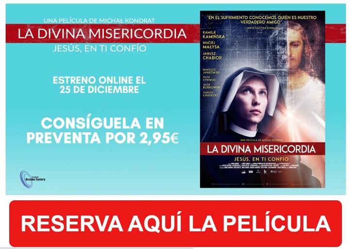 European Dreams Factory lanza online 'La Divina Misericordia' en Navidad