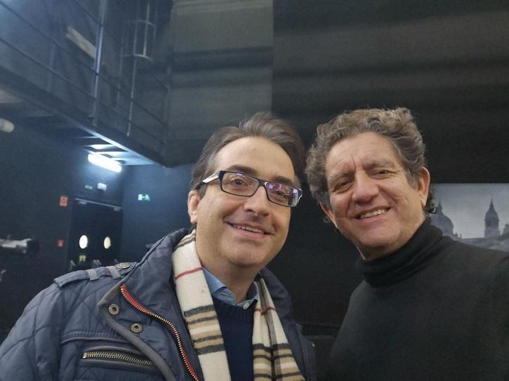 José Luis Panero y Pedro Casablanc | 'Torquemada' arrasa en los Teatros del Canal con el gran Pedro Casablanc
