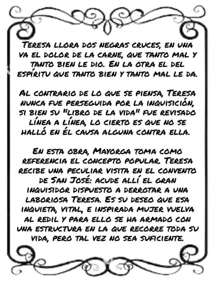 Texto del programa de mano | El grupo de teatro del 'Ateneo de Pozuelo' estrena 'La lengua en pedazos'