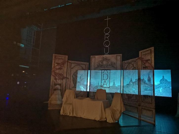 'Torquemada' arrasa en los Teatros del Canal con el gran Pedro Casablanc
