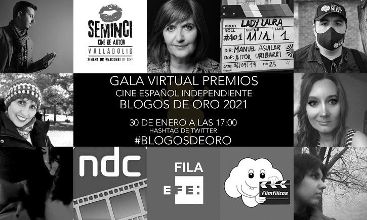 Los Blogos de Oro premiarán el cine independiente el 30 de enero