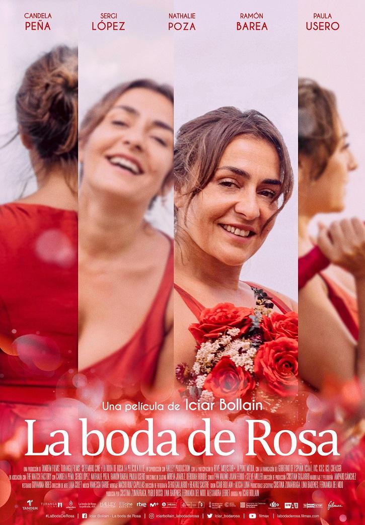 Cartel promocional de La boda de Rosa