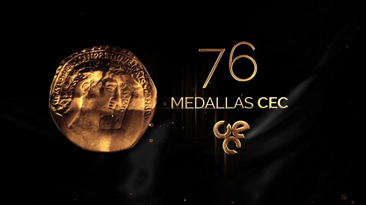Logo de la 76 edición de las Medallas CEC