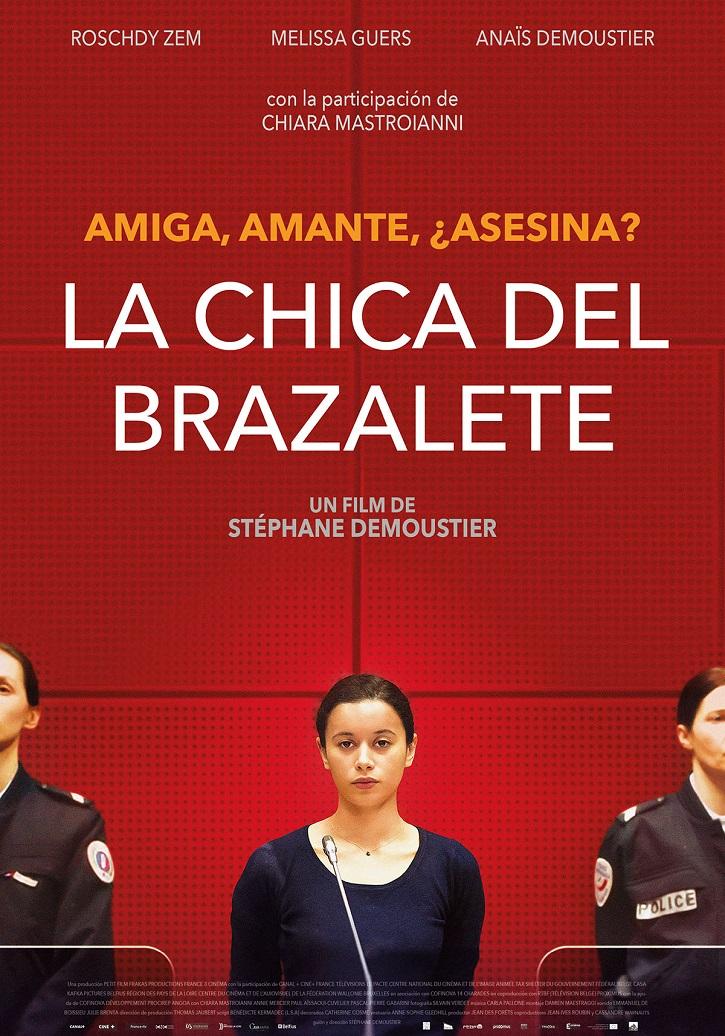 Cartel promocional del filme | Stéphane Demoustier: 'La chica del brazalete' cuestiona el conflicto moral