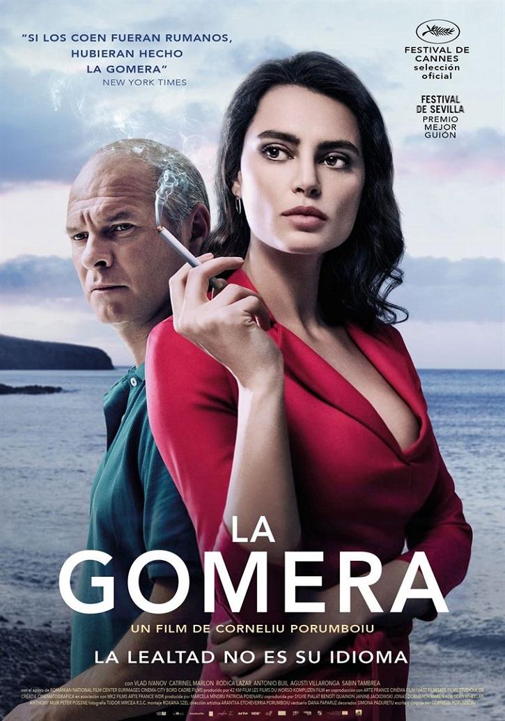 Cartel promocional del filme | Corneliu Porumboiu: 'La Gomera': el silbo tiene algo de cómico