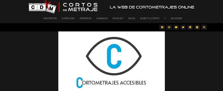 Cortos accesibles | La web de cine 'Cortos de Metraje' celebra su quinto aniversario